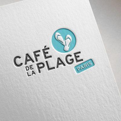 Logotype Café de la Plage