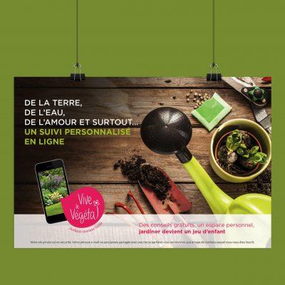 Affiche Vive le Végétal