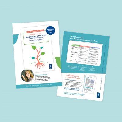 Flyer Editions Retz Dépasser les difficultés d'apprentissage