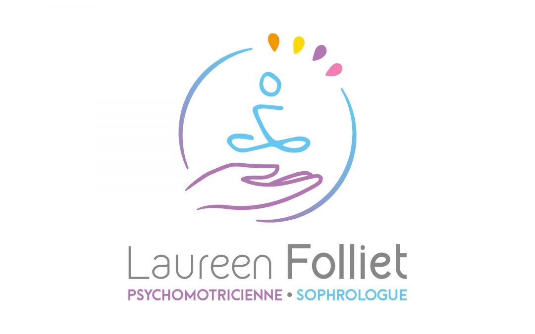 Logotype Laureen Folliet sophrologue