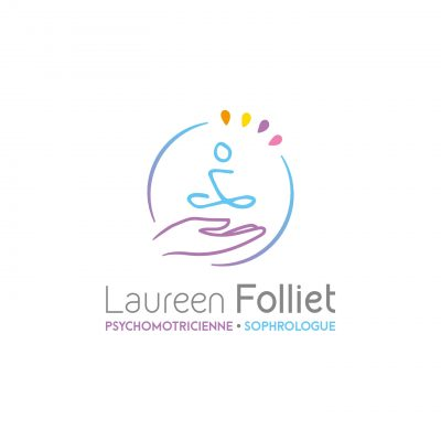 Logotype Laureen Folliet sophrologue
