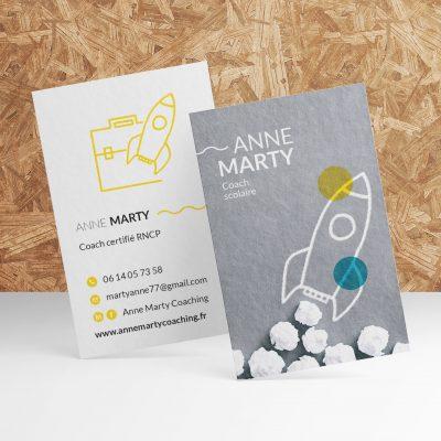 Carte de visite Anne Marty Coaching