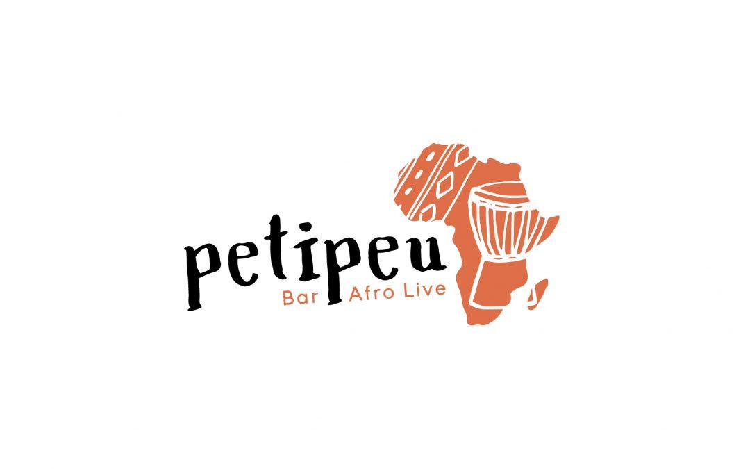 Logo Petipeu Bar Afro Live