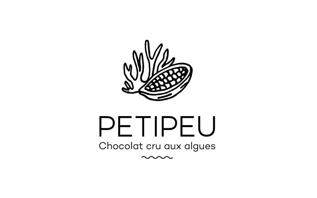 Logo Petipeu Chocolat cru aux algues