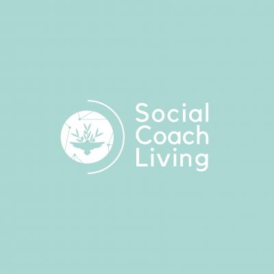 Logo Social Coach Living