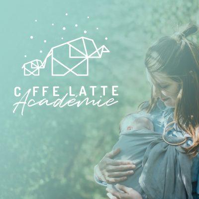 Logo et pictogrammes Caffe Latte Académie
